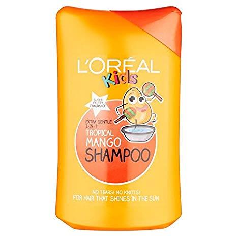 [MPLUS] Loreal Kids Tropical Mango Shampoo 250Ml