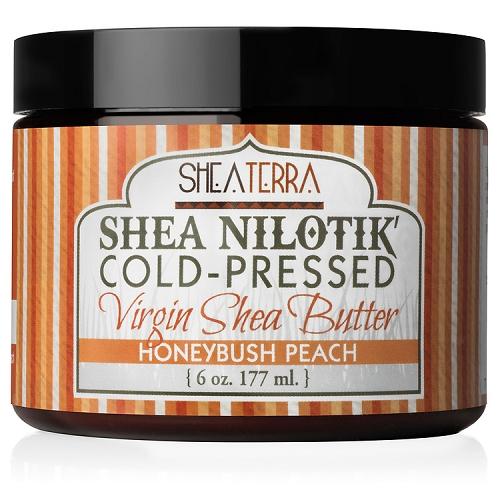 [MPLUS] SHEA TERRA ORGANICS Shea Nilotik Honeybush Peach 177g