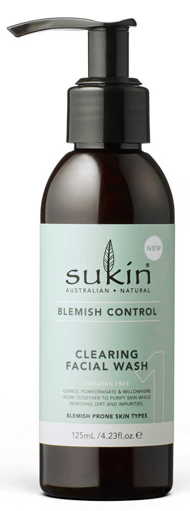 [MPLUS] Sukin Blemish Control Clearing Facial Wash 125Ml