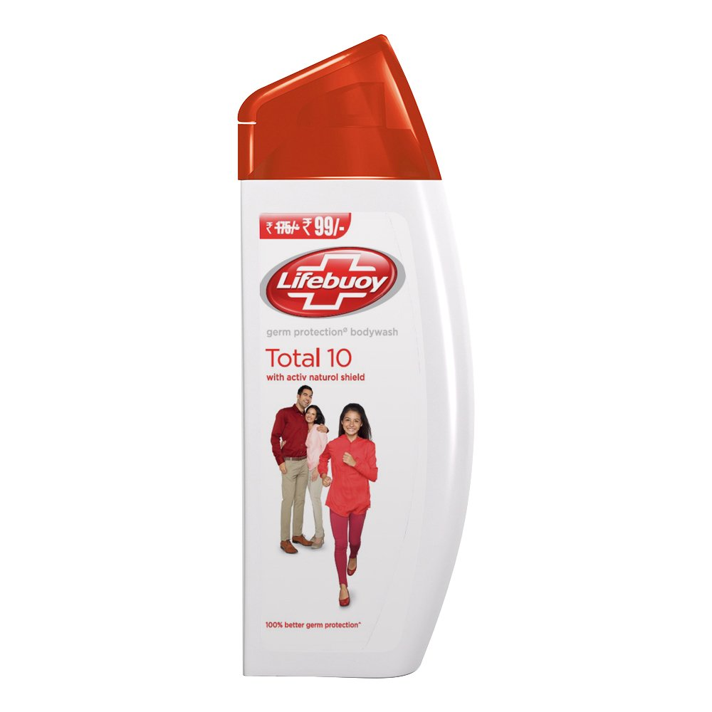 [MPLUS] Lifebuoy Germ Protection Body Wash Complete 100Ml