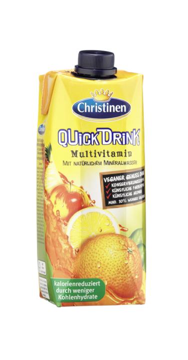 [MPLUS] Quickdrink - Multivitamin 500Ml