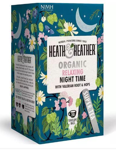 [MPLUS] TIFOLIFE HEATH & HEATHER Organic Relaxing Night Time Tea 40g