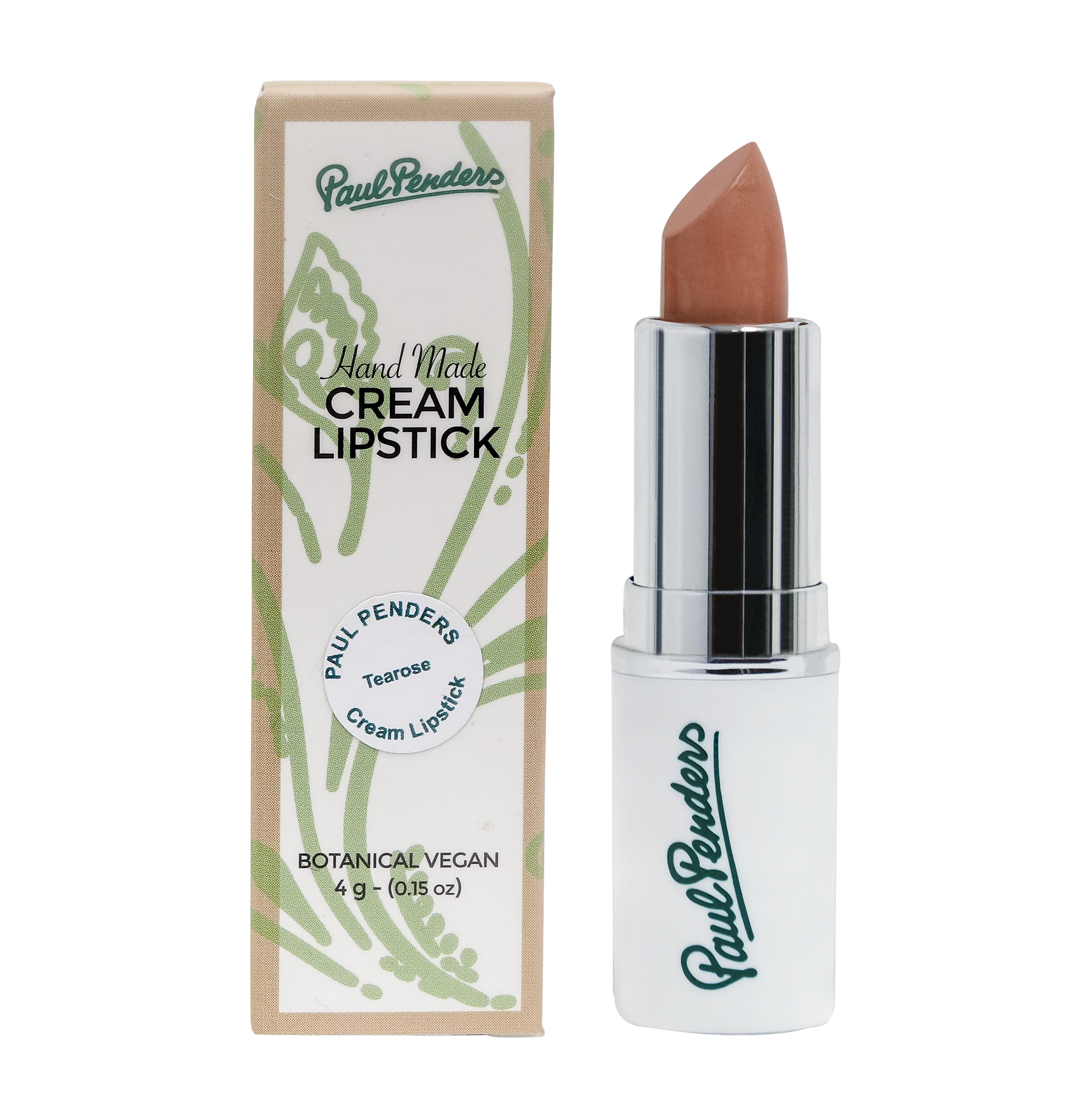 [MPLUS] PAUL PENDERS Handmade Cream Lipstick Tearose 4g
