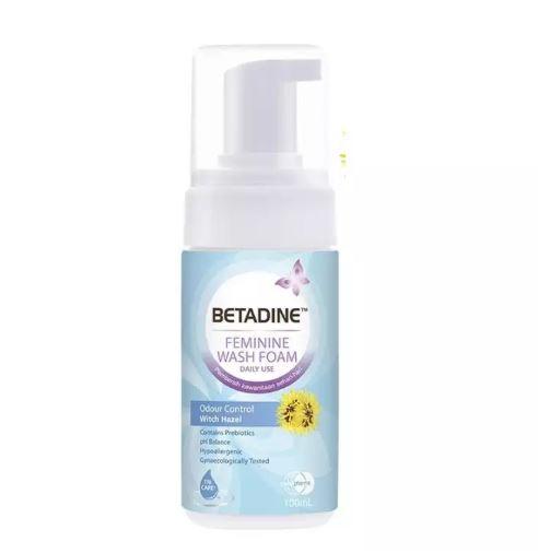[MPLUS] BETADINE Feminine Wash Foam Odour Control 100ml