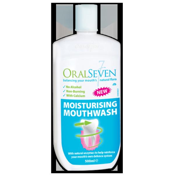 [MPLUS] Oral 7 Moisturising Mouthwash 500Ml