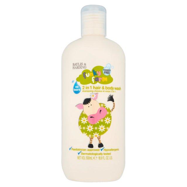 [MPLUS] Baylis & Harding Funky Farm 500Ml Hair & Body Wash
