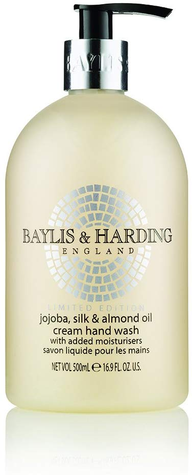 [MPLUS] Baylis & Harding Jojoba, Silk & Almond Oil 500Ml Hand Wash