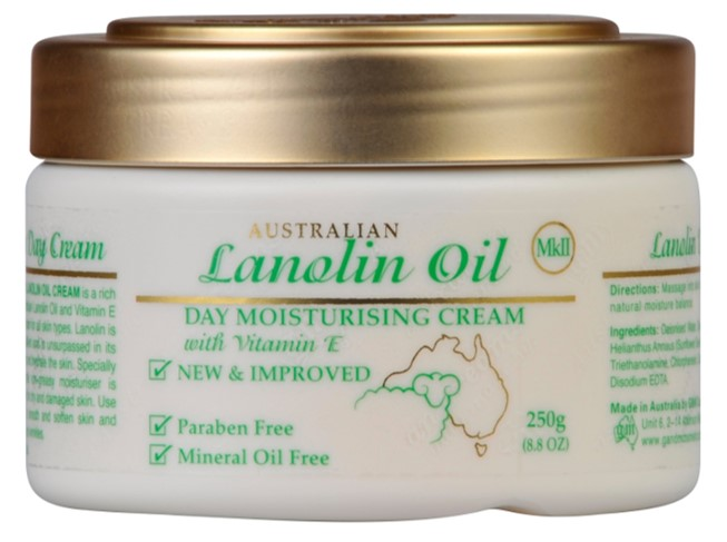 [MPLUS] Australian Creams Lanolin Oil Day Moisturising Cream With Vitamin E 250G