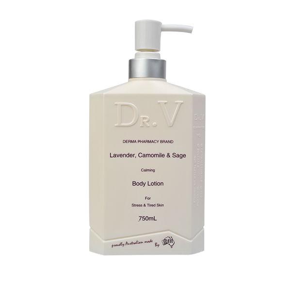 [MPLUS] Dr.V Lavender, Camomile & Sage Body Lotion 750Ml