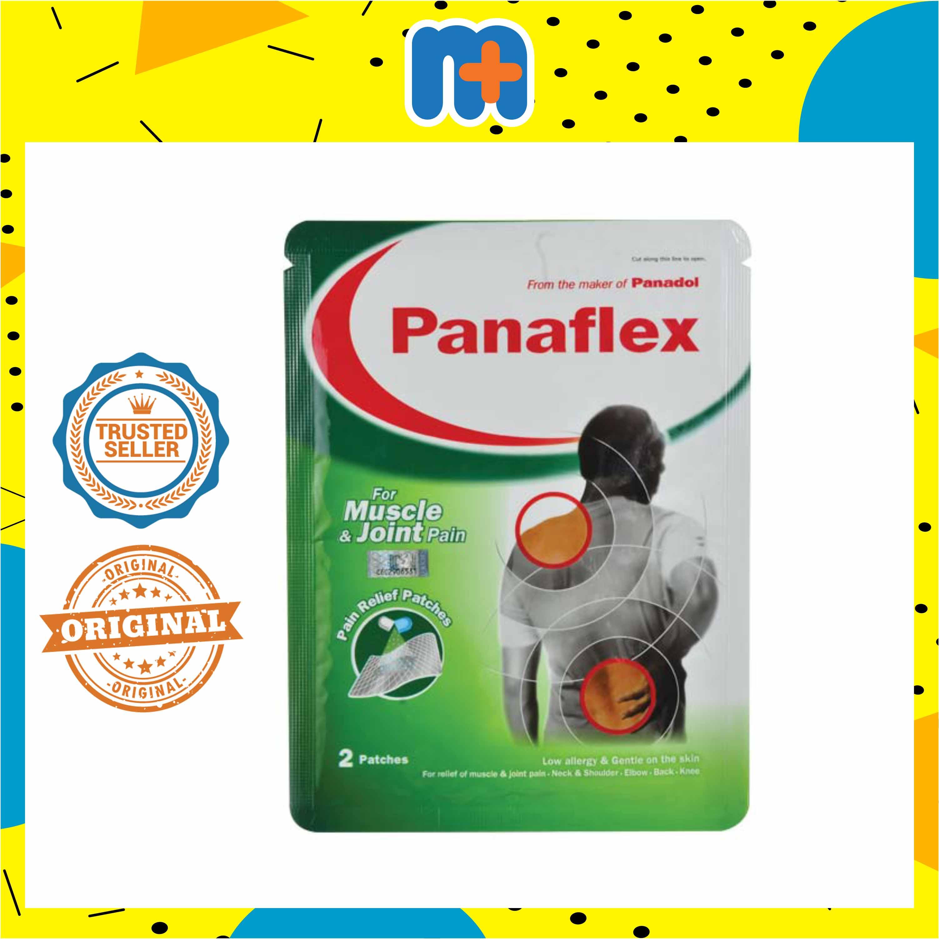 [MPLUS] Panaflex Pain Relief Patch 2S