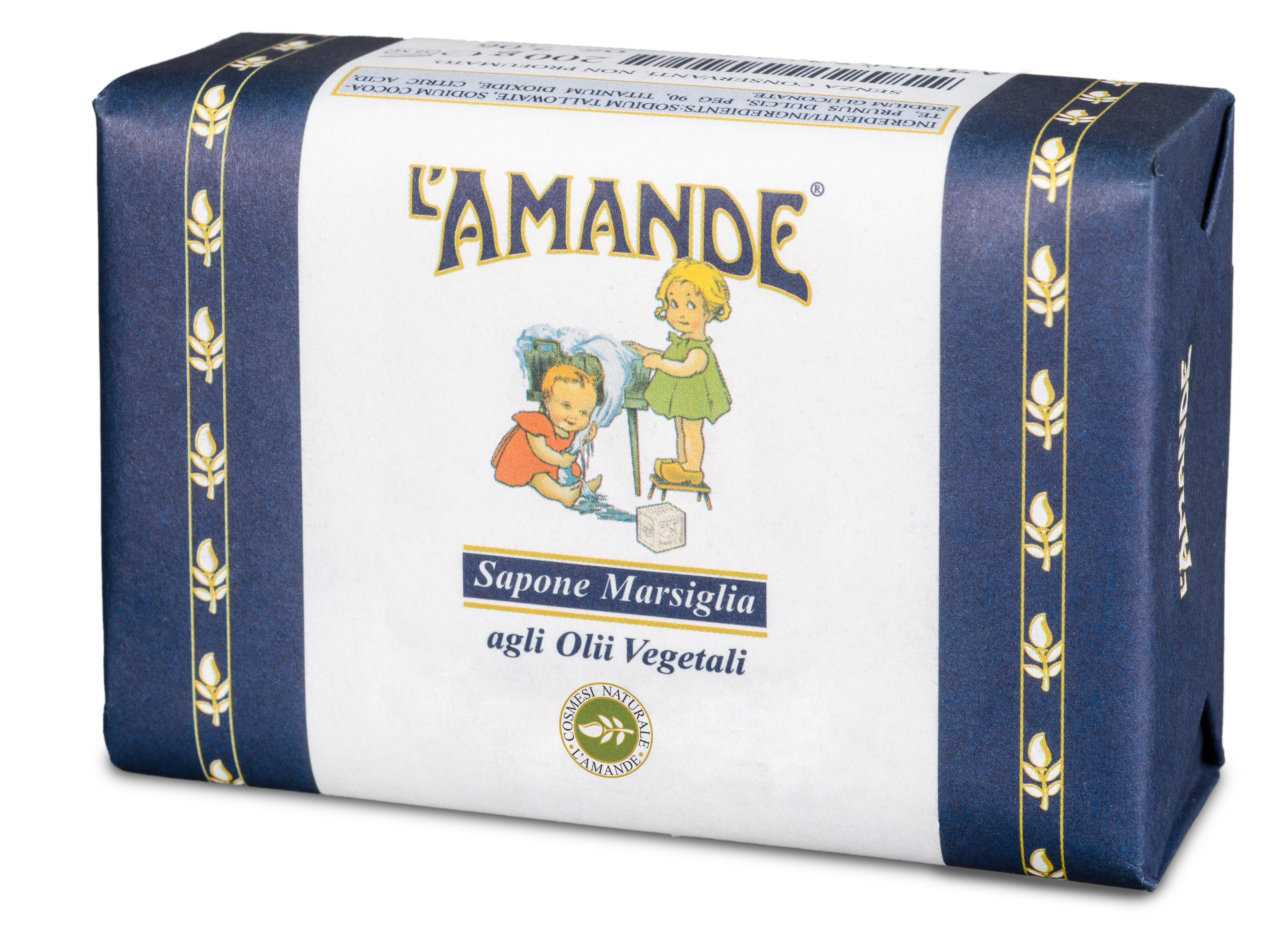 [MPLUS] L'AMANDE True Marseilles Soap 200g