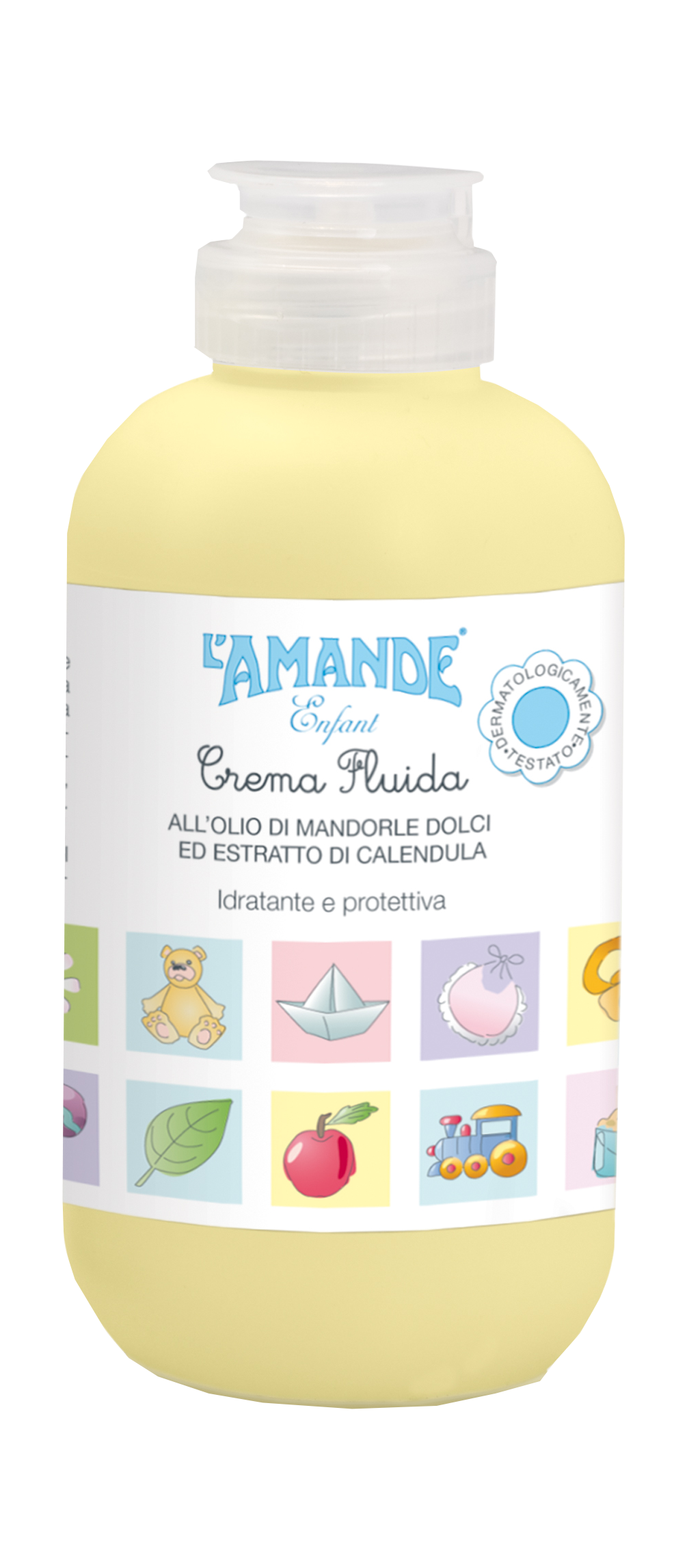 [MPLUS] L'Amande Baby Lotion With Sweet Almond Oil & Calendula Extracts 200Ml