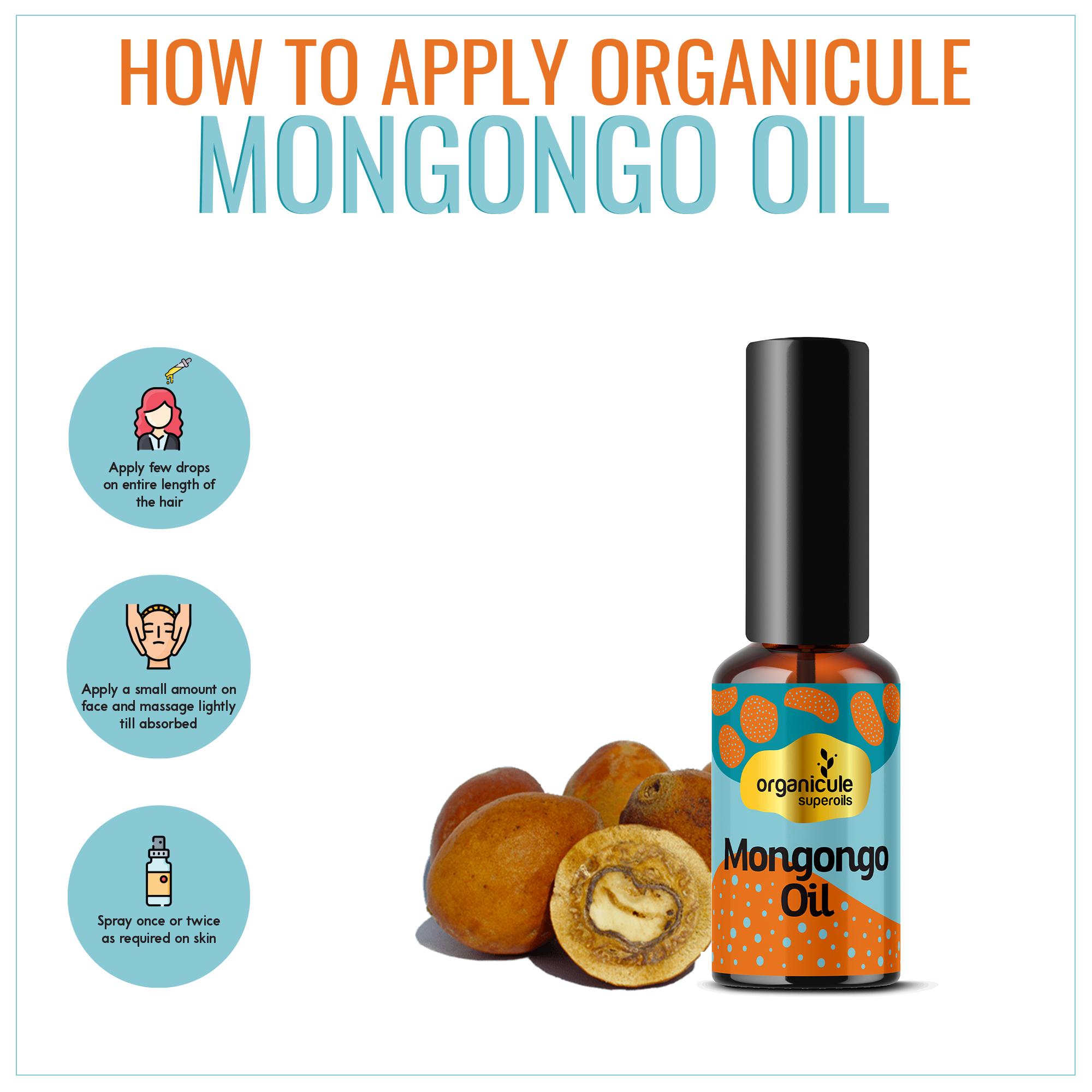 [MPLUS] ORGANICULE Superoils Mongongo Oil 30ml