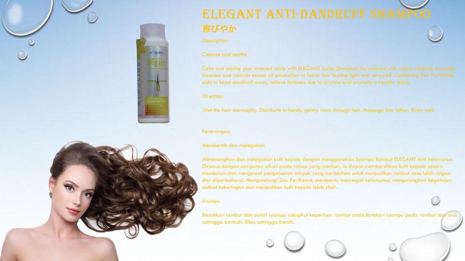 [MPLUS] Eosg Elegant Anti Dandruff Shampoo 400Ml
