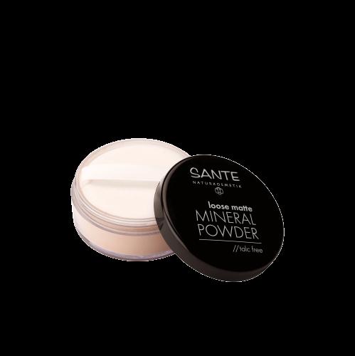 [MPLUS] SANTE Loose Matte Mineral Powder 01 (Light Beige) 12g