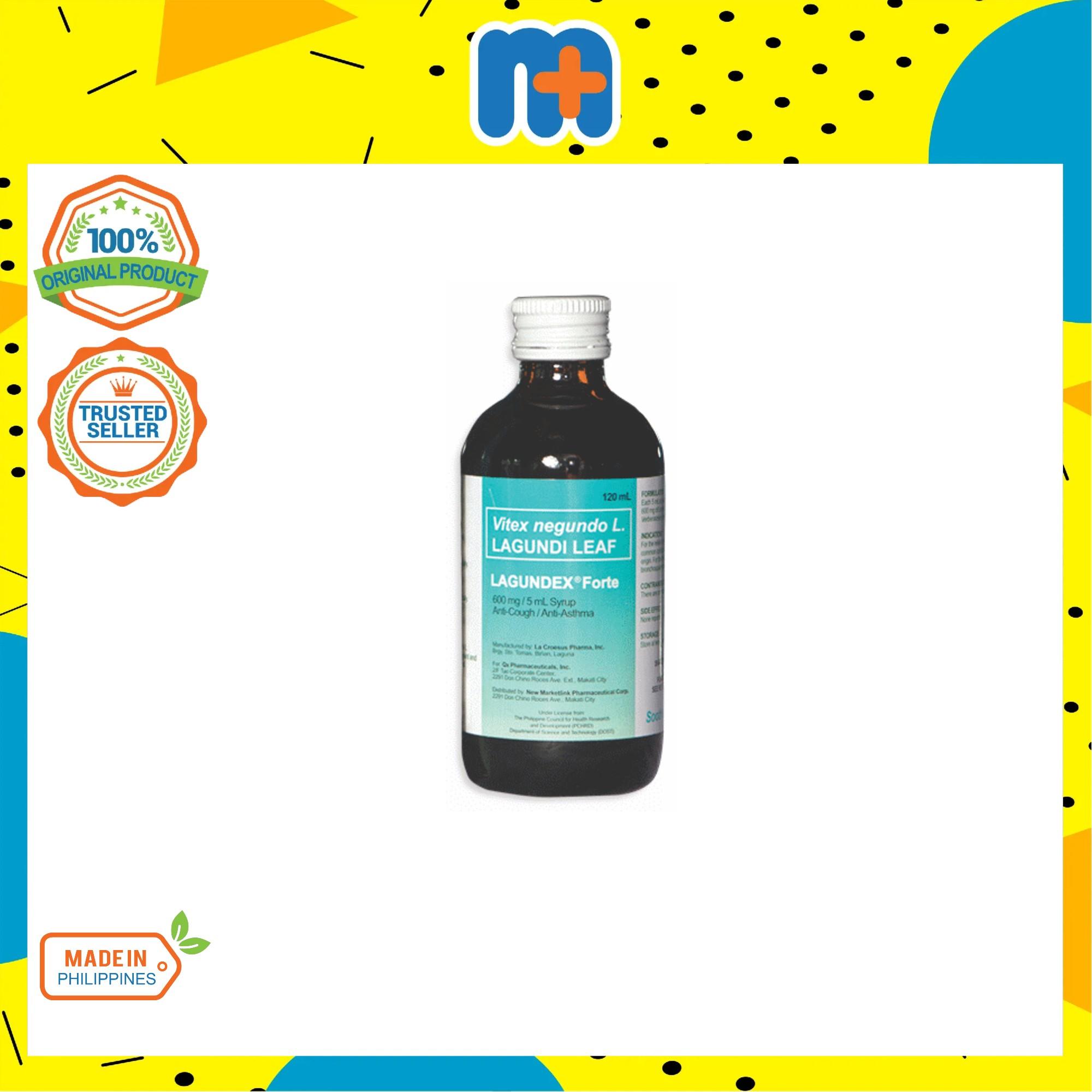 [MPLUS] LAGUNDEX Forte 600mg/5ml Syrup 120ml