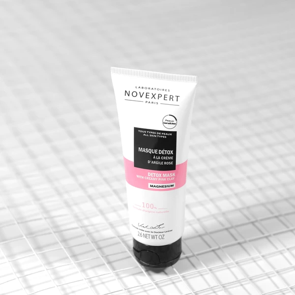 [MPLUS] NOVEXPERT Detox Mask with Creamy Pink Clay 75ml