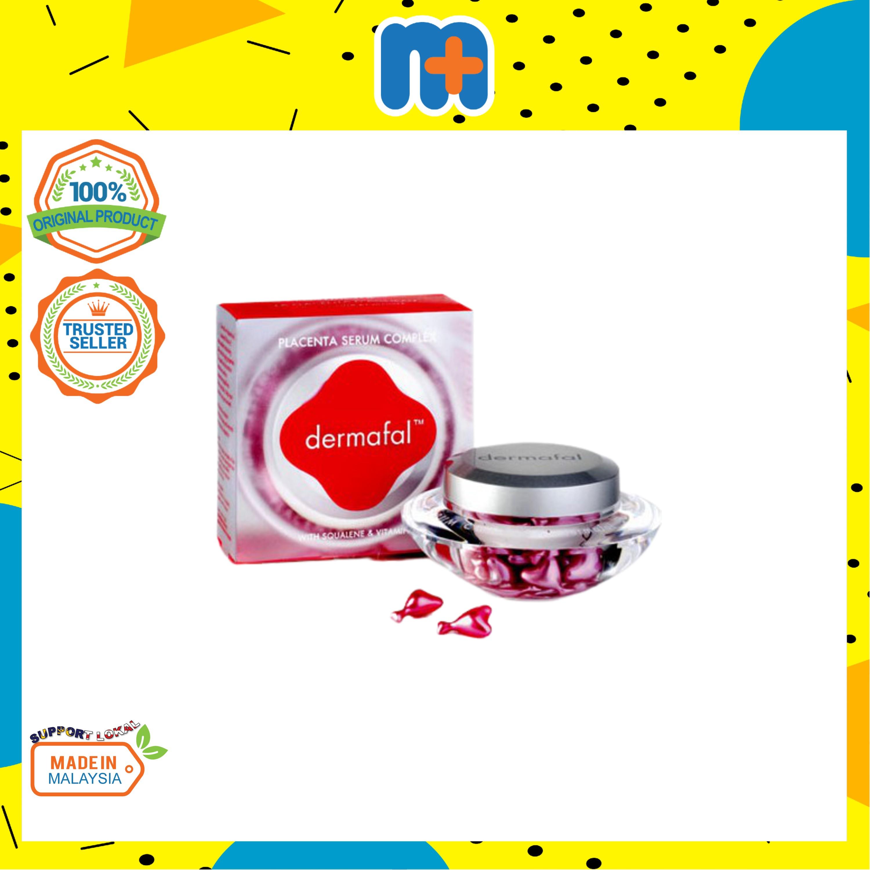 [MPLUS] DERMAFAL Placenta Serum Complex With Squalene Vit E 60s