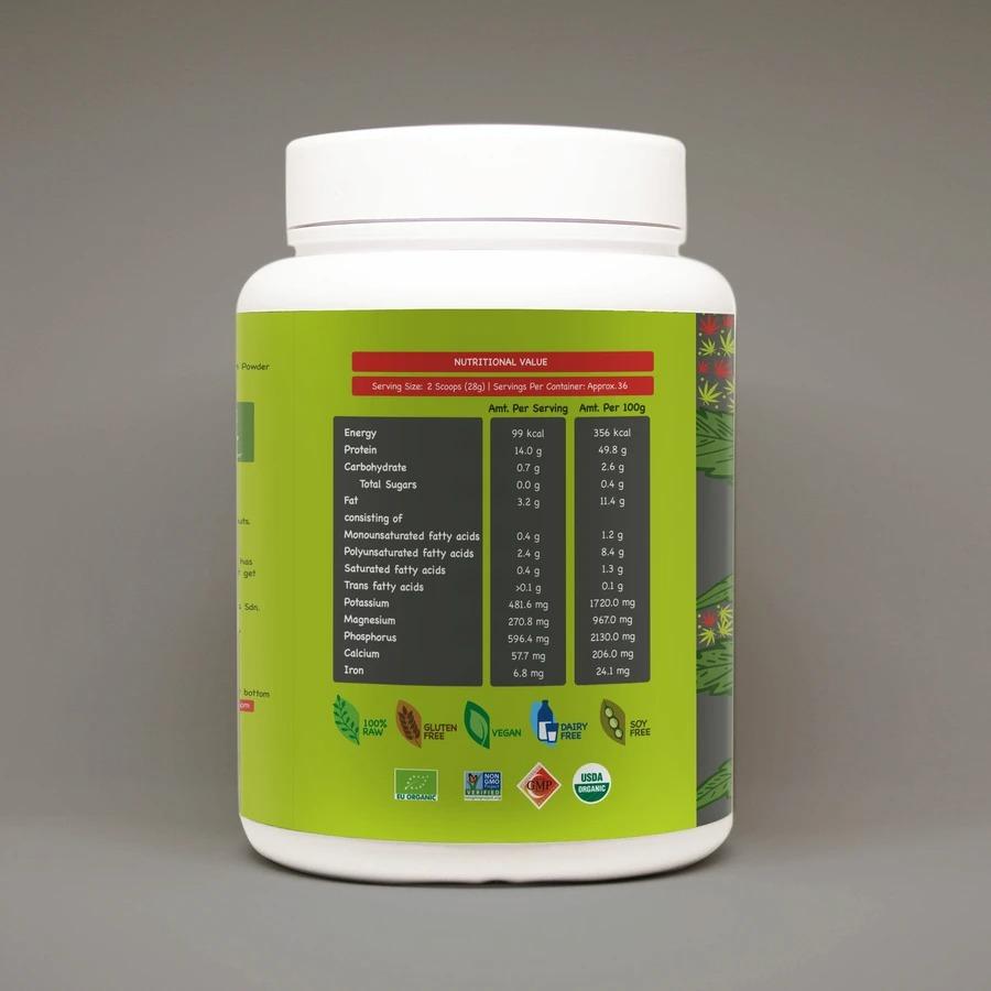 [MPLUS] ORGANICULE Hemp Protein 1kg