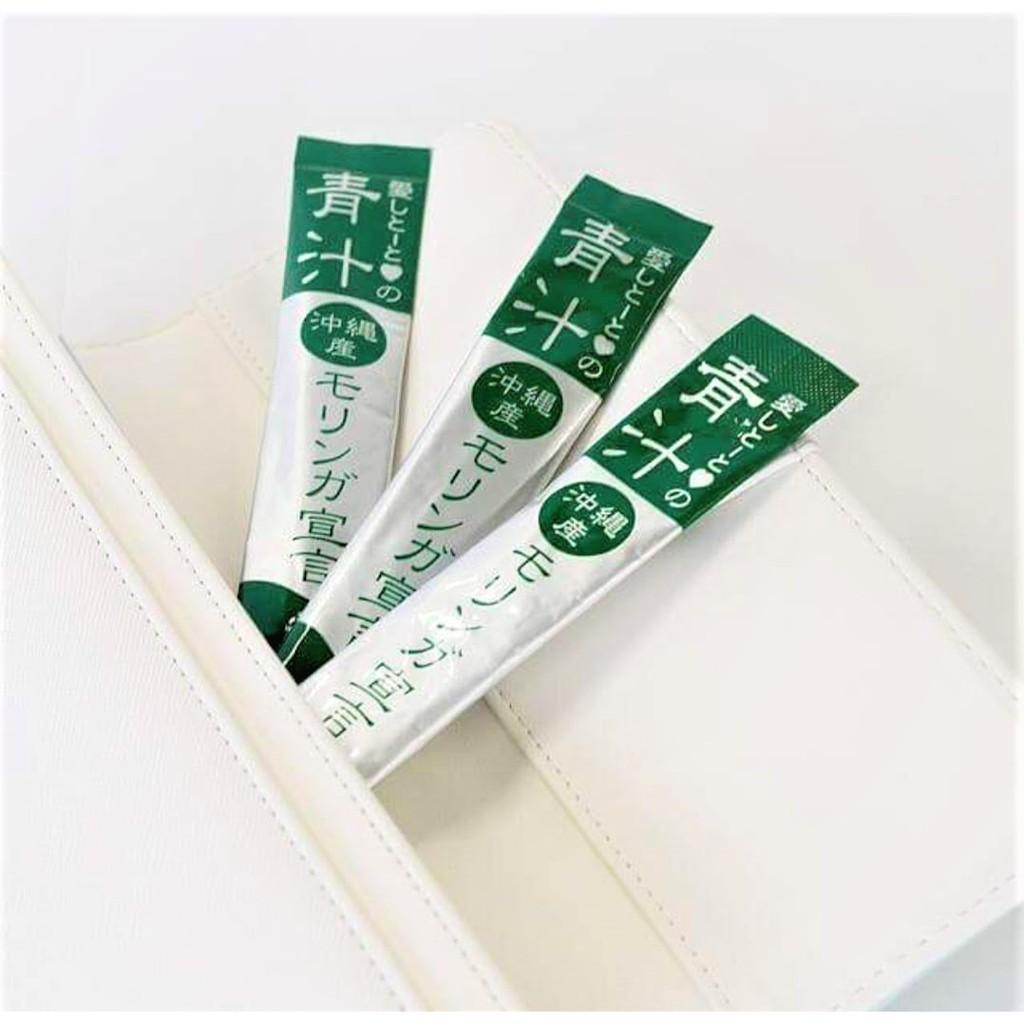 [MPLUS] AISHITOTO Aojiru Sengen - Botanical Beverage Mixed Moringa with Collagen (30S)
