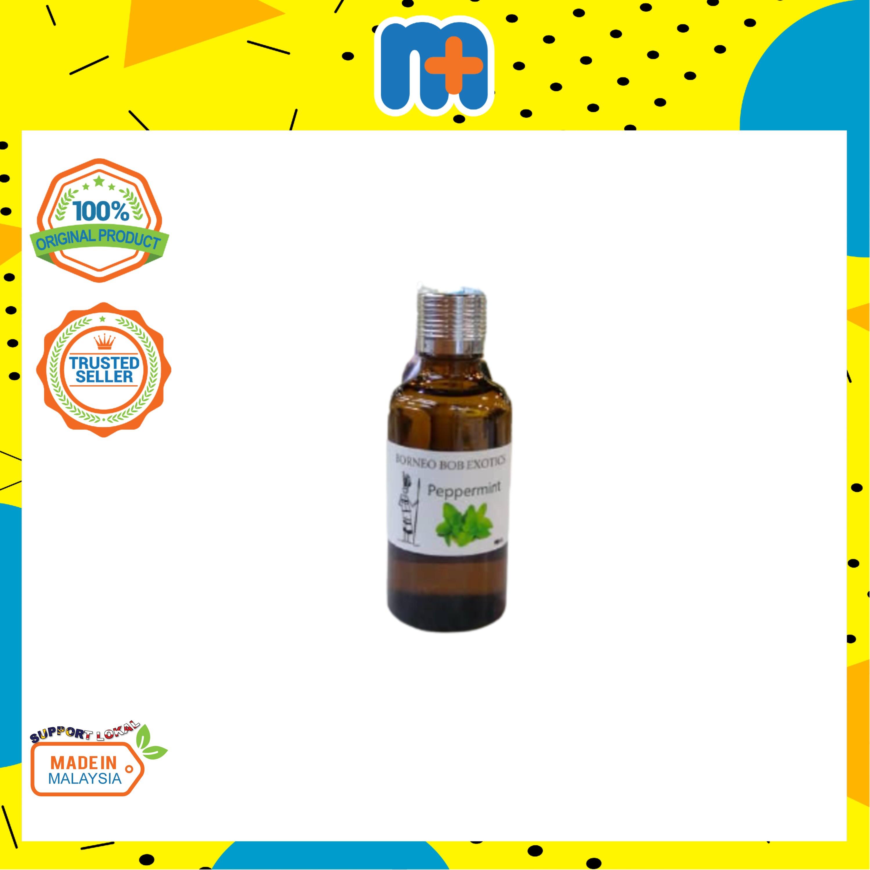 [MPLUS] BORNEO BOB Aromatherapy-Peppermint Essential Oil 50ml