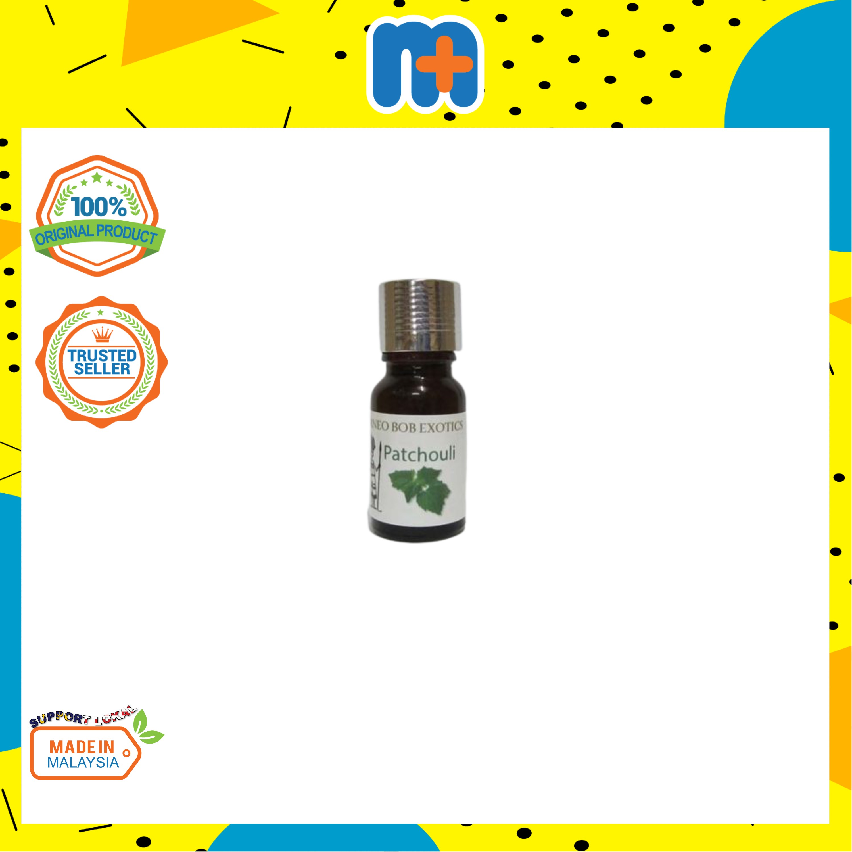 [MPLUS] BORNEO Patchouli Pure Essential Oils 10ml