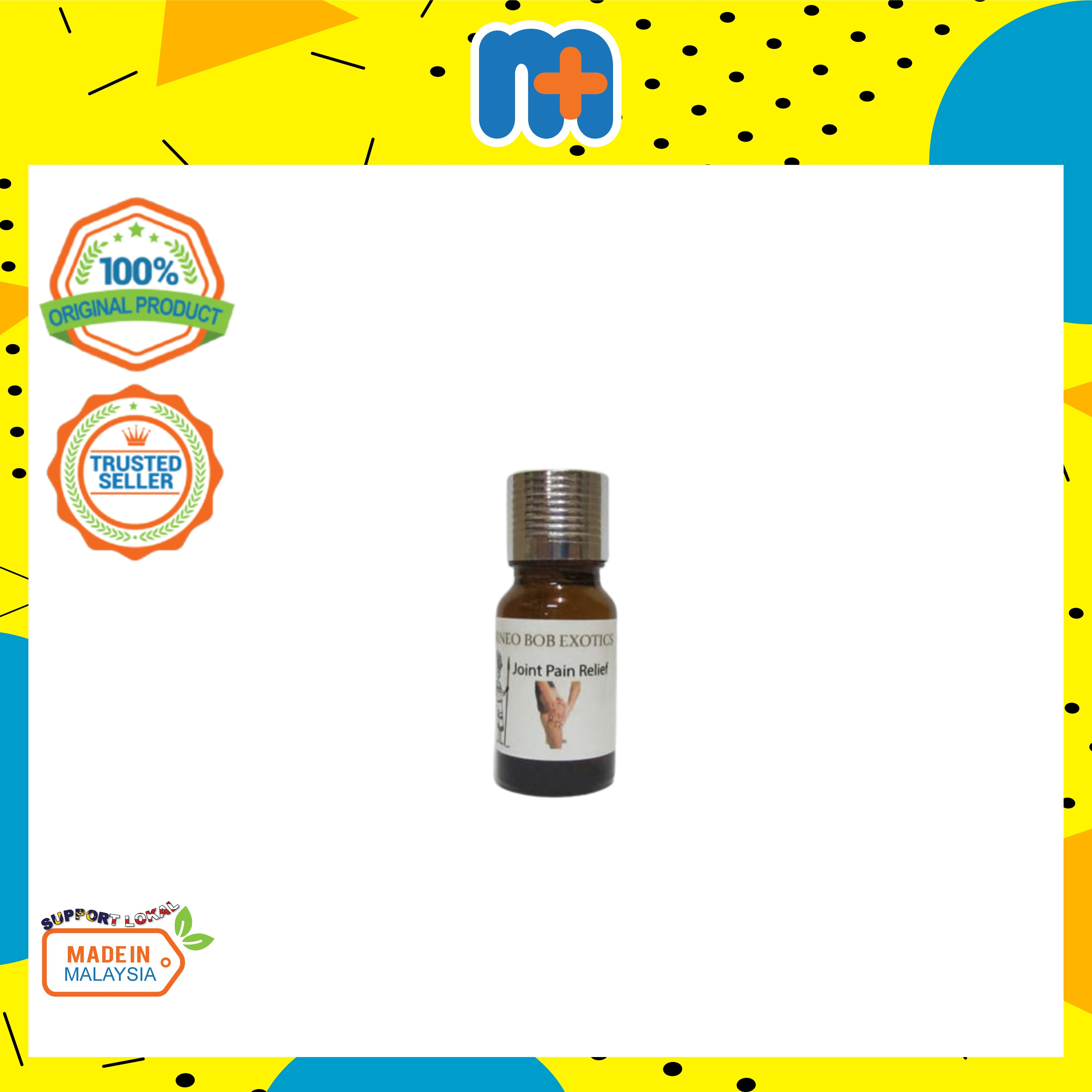 [MPLUS] BORNEO Blended Joint Pain Essential Oils 10ml
