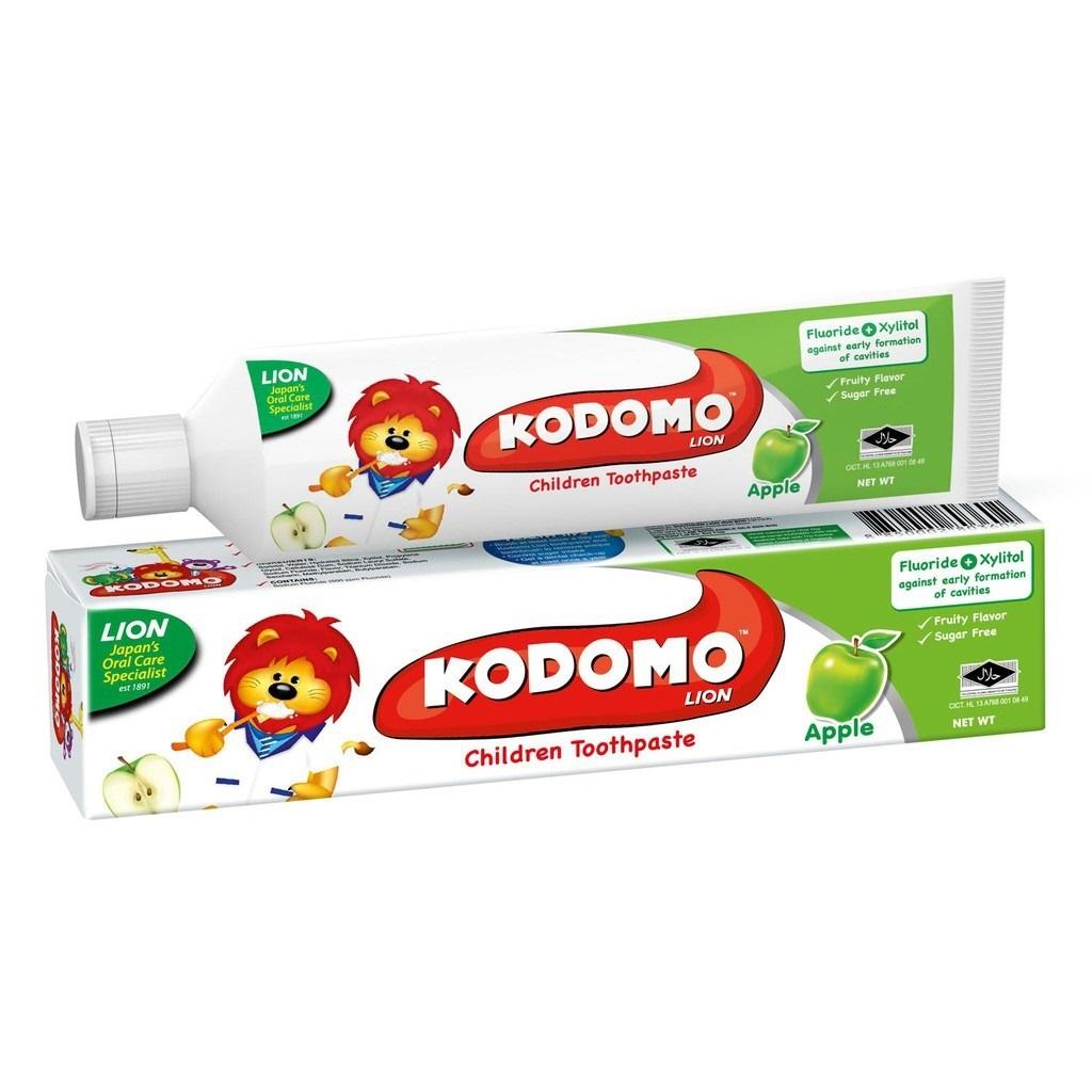 [MPLUS] KODOMO LION Children Toothpaste – Apple 40g