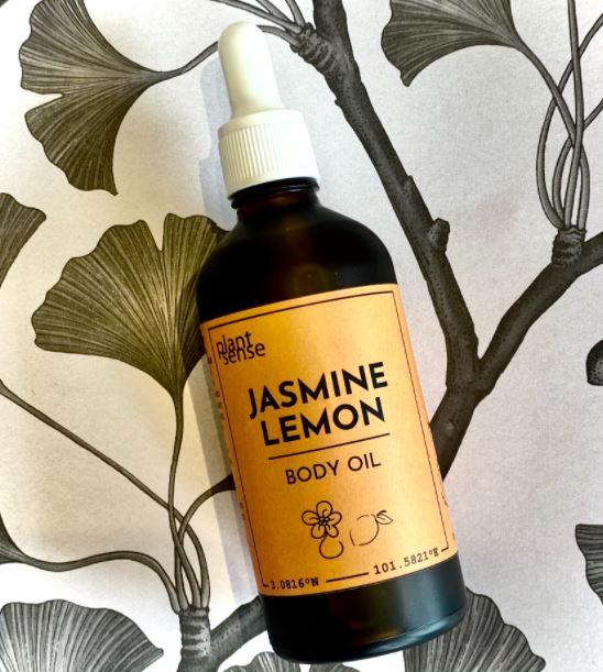 [MPLUS] PLANTSENSE Jasmine Lemon Body Oil 100ml
