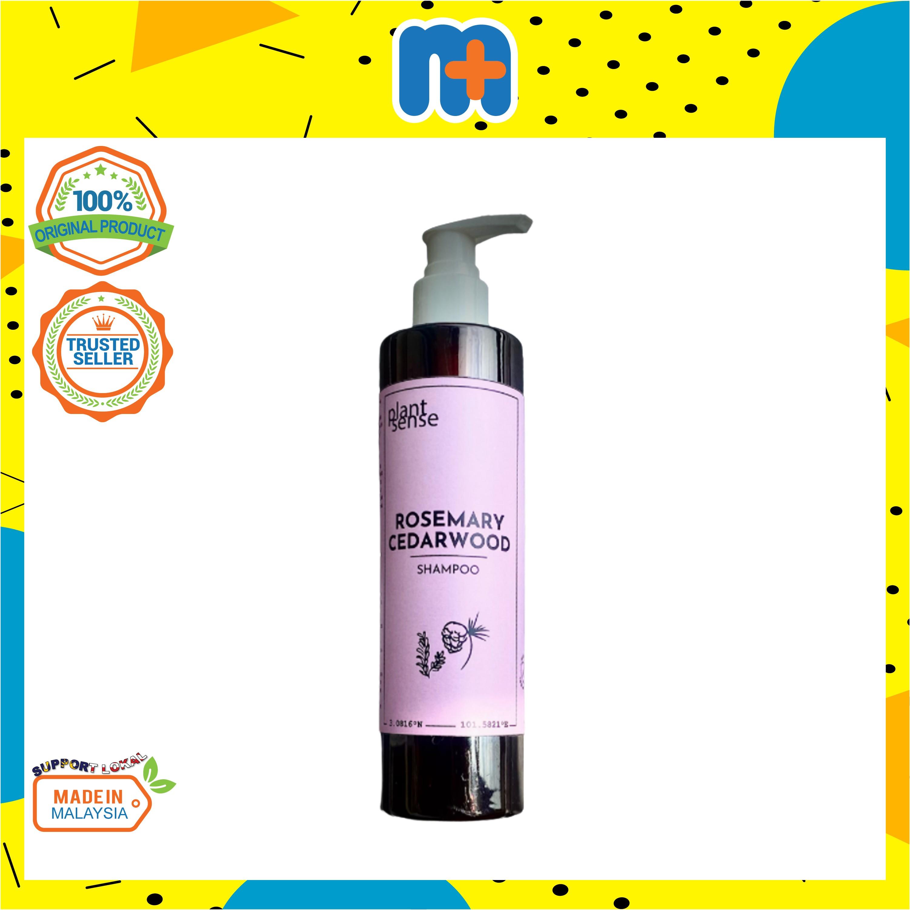 [MPLUS] PLANTSENSE Rosemary Cedarwood Hair Shampoo 300ml