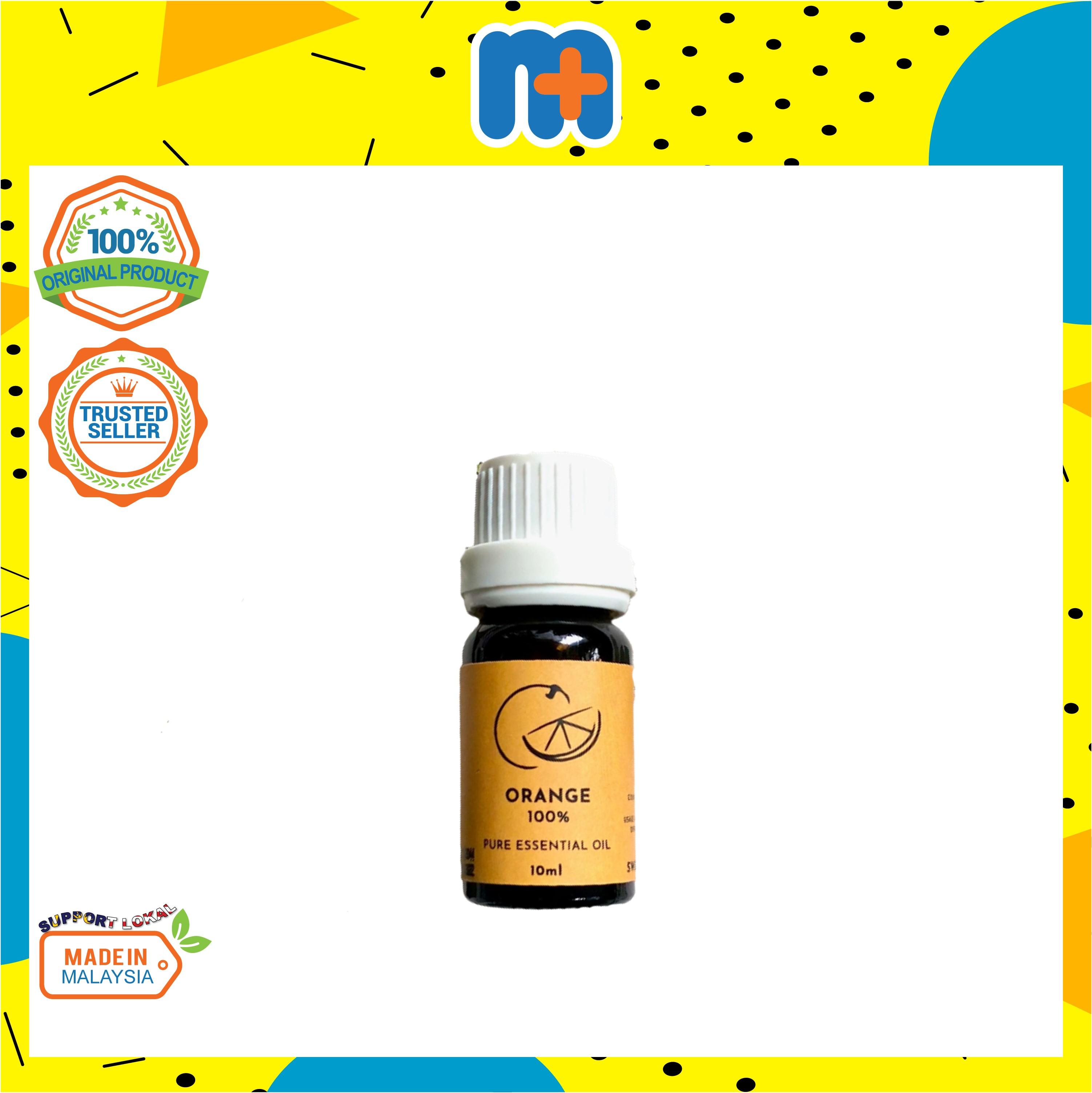 [MPLUS] PLANTSENSE Orange 100% Pure Essential Oil 10ml