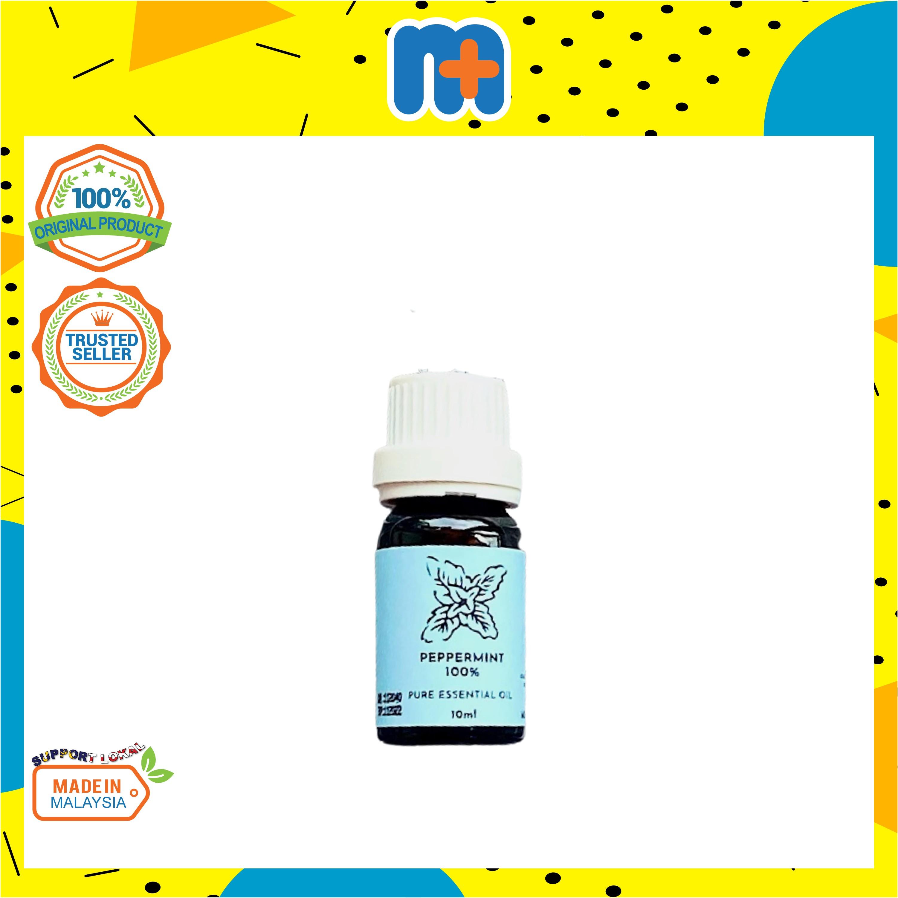 [MPLUS] PLANTSENSE Peppermint 100% Pure Essential Oil 10ml