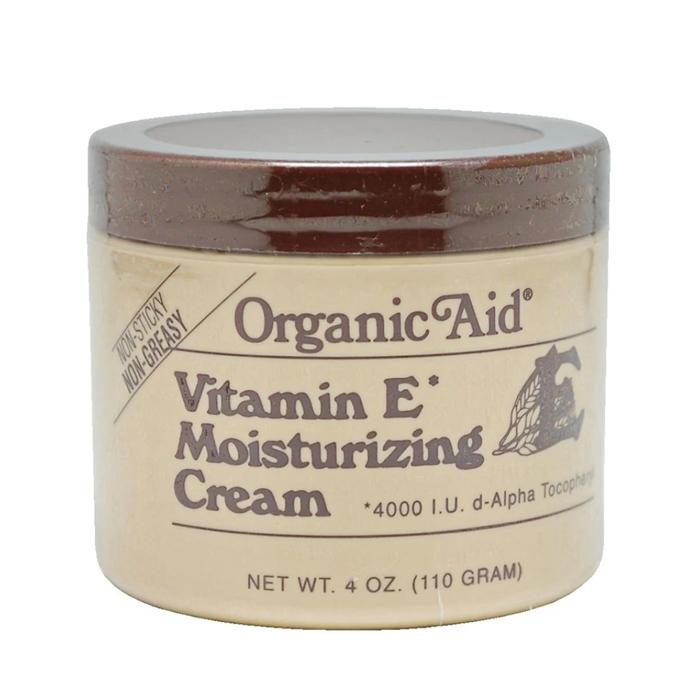 [MPLUS] Organic Aid Vit E Moisturizing Cream Jar 113G