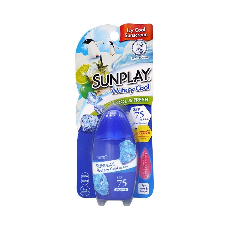 [MPLUS] Mentholatum Sunplay Watery Cool Spf75+ 35G