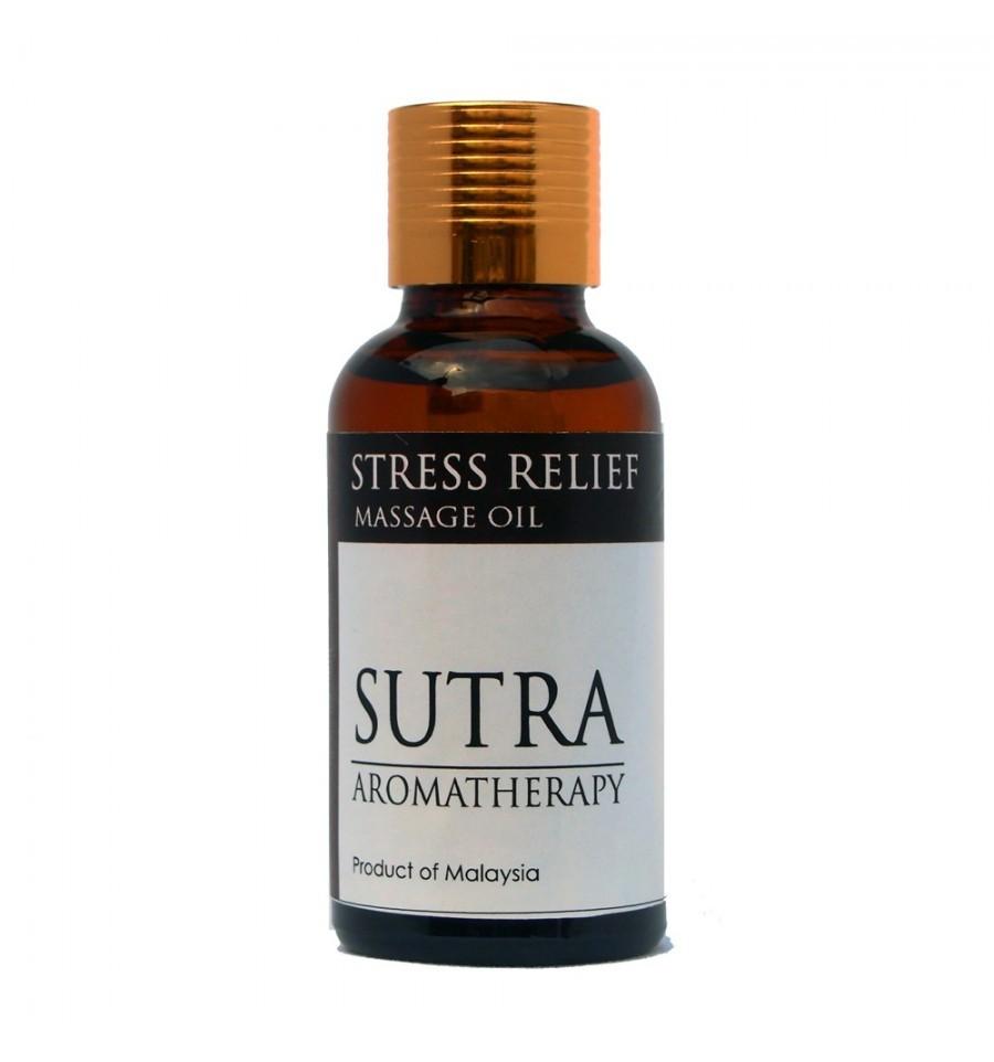 [MPLUS] Sutra Massage Oil Msr01 Stress Relief 30Ml