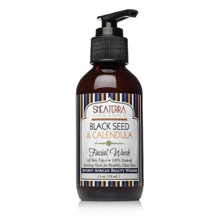 [MPLUS] SHEA TERRA ORGANICS Black Seed & Calendula Face Wash