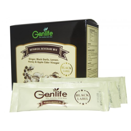 [MPLUS] Genlife Botanical Beverage Mix-Black Label 25Ml X 30S