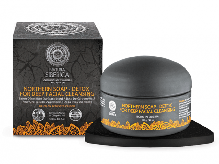 [MPLUS] Natura Siberica Northern Soap For Deep Facial Cleansing 120Ml