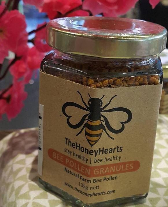 [MPLUS] THE HONEY HEARTS Bee Pollen Granules 105g