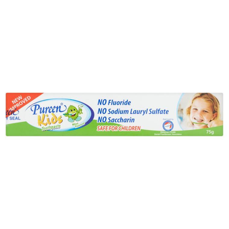 [MPLUS] Pureen Kids Toothpaste Mint 40G