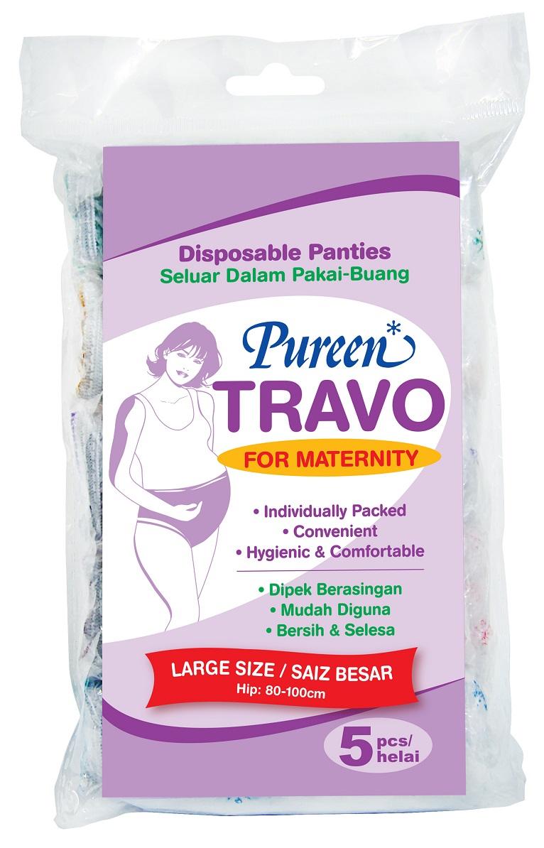 [MPLUS] PUREEN Travo Maternity Panties L