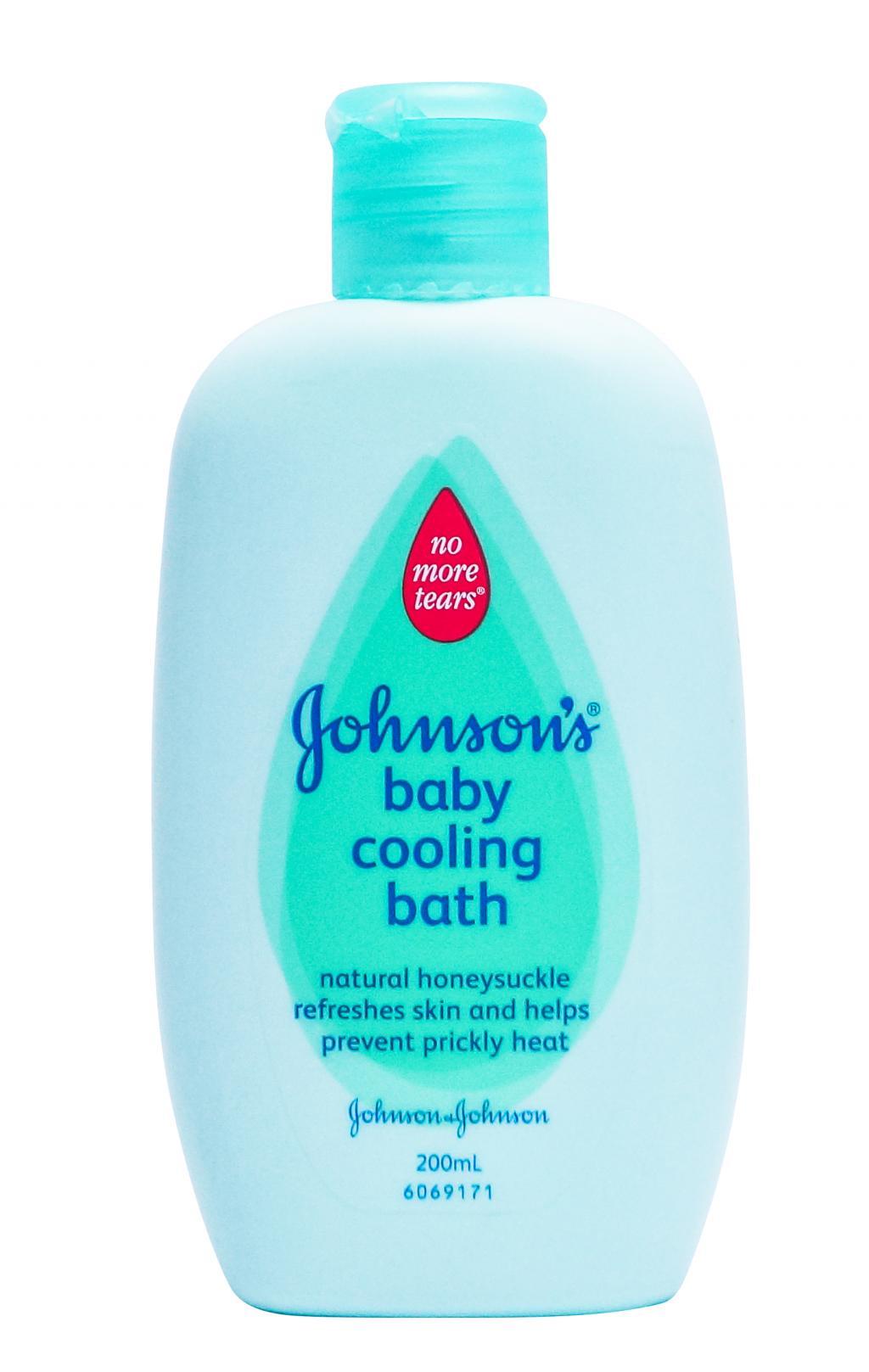 [MPLUS] Johnson\'S Baby Baby Cooling Bath 200Ml