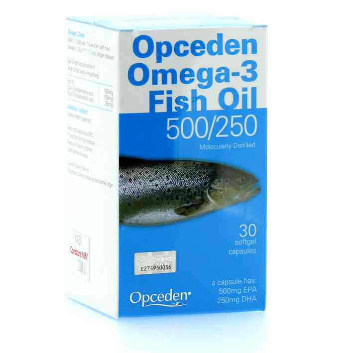 [MPLUS] Opceden Omega 3 Fish Oil 500/250 30S
