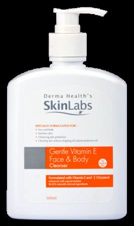[MPLUS] Skinlabs Vit E Face & Body Cleanser 500Ml