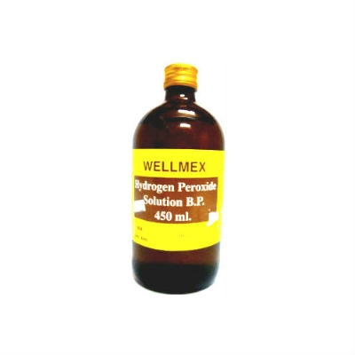 [MPLUS] Wellmex Hydrogen Peroxide 450Ml