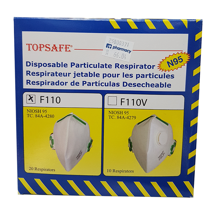 [MPLUS] Top Safe N95 Face Mask Model F110 1S