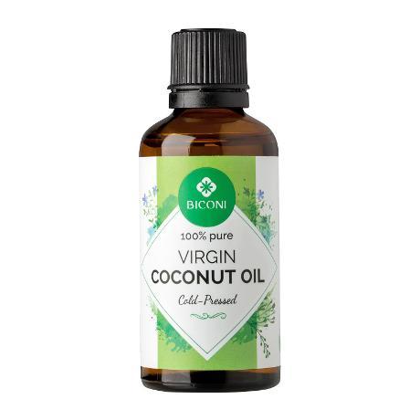 [MPLUS] Biconi Virgin Coconut Oil 50Ml(100% Cold Pressed)