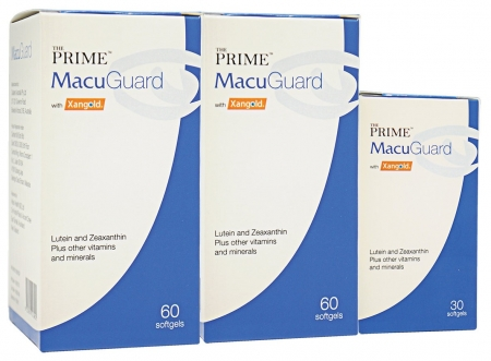 [MPLUS] Prime Macuguard Softgels Tp 2X60S Foc 30S