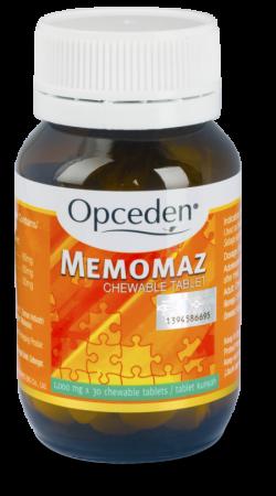 [MPLUS] Opceden Memomaz Tabs (Chew) 600Mg 30S