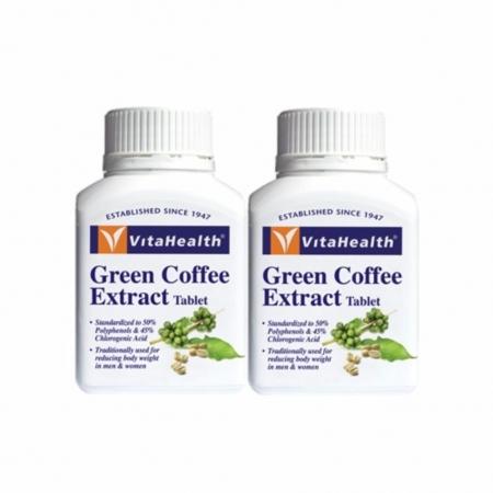 [MPLUS] Vitahealth Green Coffee Extract 2 X 60S